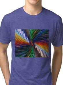 Multimedia swirl Tri-blend T-Shirt