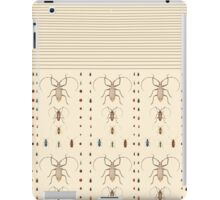 bugs on ivory iPad Case/Skin