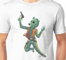 Alien vs. Greedo colored UNofficial Unisex T-Shirt
