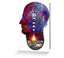 Within Us Greeting Card