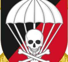 "Parachute Anti-Tank Defense Company (CIADCCPAC). Paratrooper Brigade ""Almogávares"" (BRIPAC) (Spanish Army) Sticker"