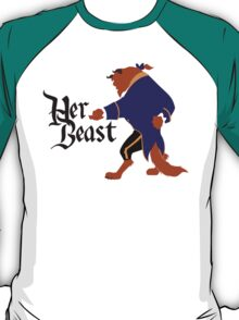 Her Beast - Beauty and the Beast Couples Shirt for Men T-Shirt