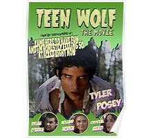 Teen Wolf Old Comic Poster