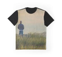 Mesmerized By The Atlantic Ocean | Hampton Bays, New York  Graphic T-Shirt