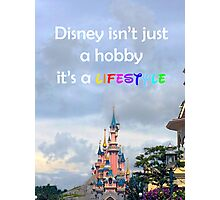 disney lover quote Photographic Print
