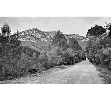 Footpath in the La Murta Valley Photographic Print