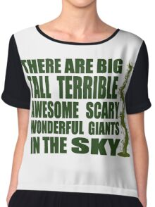There Are Giants in the Sky! Chiffon Top