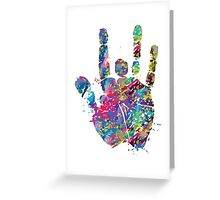 Grateful Dead - Jerry Hand Greeting Card