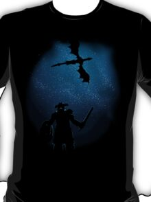 Under a Sky Ruled by Dragons T-Shirt
