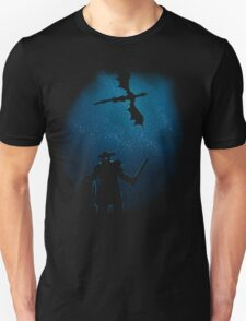 Under a Sky Ruled by Dragons Unisex T-Shirt