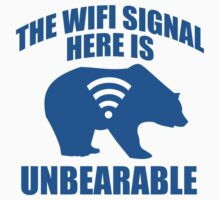 The Wifi Signal Here Is Unbearable by DesignFactoryD