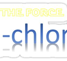 THE FORCE Midi-chlorians Sticker