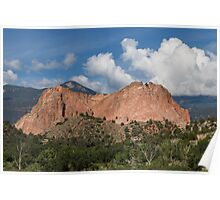 Garden of the Gods - Cathedral Rock Poster