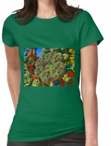 Ring Formations Womens Fitted T-Shirt