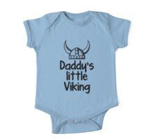 Daddy's Little Viking One Piece - Short Sleeve