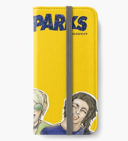 WATERPARKS | double dare iPhone Wallet/Case/Skin