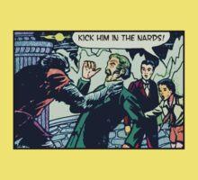 Kick Him in the Nards! Kids Tee