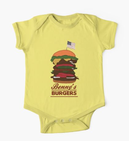 Benny's Burgers One Piece - Short Sleeve