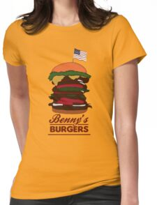 Benny's Burgers Womens Fitted T-Shirt
