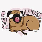 Pug Lover by Gregory Swanson