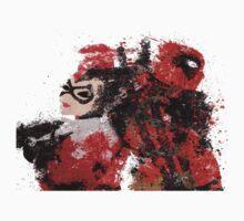 Harley Quinn VS Dead Pool Kids Clothes