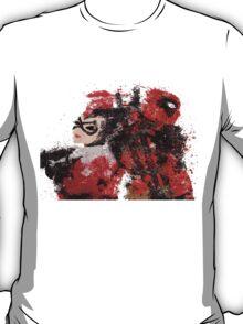 Harley Quinn VS Dead Pool T-Shirt