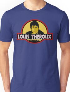 """Jurassic Louis"" Jurassic Park Louis Theroux T Shirt BBC Unisex T-Shirt"