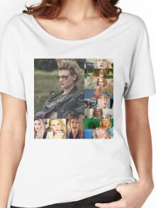 kATE MCKINNON COLLAGE PRODUCTS Women's Relaxed Fit T-Shirt