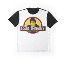"""Jurassic Louis"" Jurassic Park Louis Theroux T Shirt BBC Graphic T-Shirt"