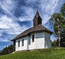 A Wayside Chapel by Xandru