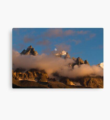 Alpine Evening Canvas Print