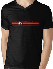 Massey Ferguson Tractors stripe Mens V-Neck T-Shirt