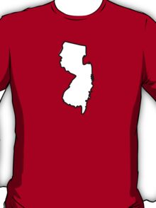 New Jersey State Outline T-Shirt
