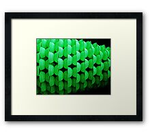 strength in numbers Framed Print