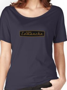 Piper Comanche vintage Aircraft Women's Relaxed Fit T-Shirt