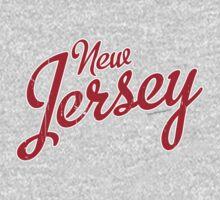 New Jersey Script VINTAGE Crimson by USAswagg2