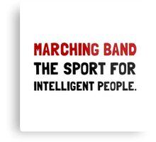 Marching Band Intelligent Metal Print