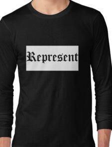 Represent Long Sleeve T-Shirt