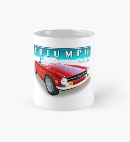 TR6 triumph Cars UK Mug