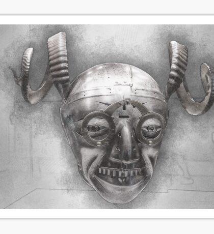 Henry VIII's horned helmet Sticker