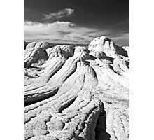The Brain Rocks of White Pocket Photographic Print