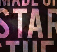 We Are Made of Star Stuff - Carl Sagan DARK Sticker