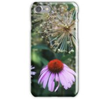 Coneflower in Dow Gardens iPhone Case/Skin