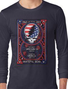 Grateful Dead at Levis Stadium, Santa Clara (50 Years) Long Sleeve T-Shirt