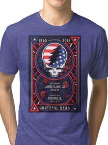 Grateful Dead at Levis Stadium, Santa Clara (50 Years) Tri-blend T-Shirt