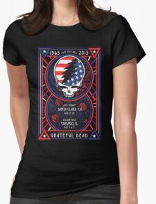 Grateful Dead at Levis Stadium, Santa Clara (50 Years) Womens Fitted T-Shirt