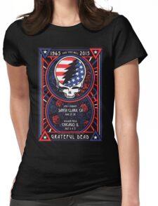 Grateful Dead at Levis Stadium, Santa Clara (50 Years) Womens Fitted T-Shirt
