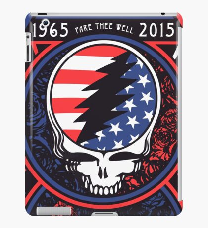Grateful Dead at Levis Stadium, Santa Clara (50 Years) iPad Case/Skin