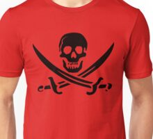 Pirate Skull 2 Unisex T-Shirt