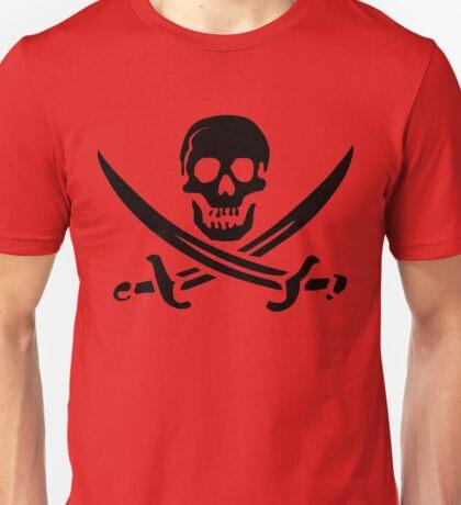 Pirate Skull 2 Unisex T-Shirt
